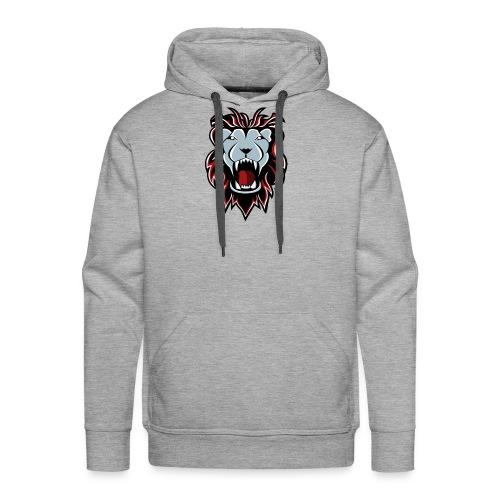 Lion Logo - Men's Premium Hoodie