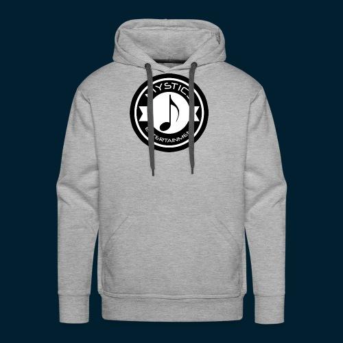 mystics_ent_black_logo - Men's Premium Hoodie