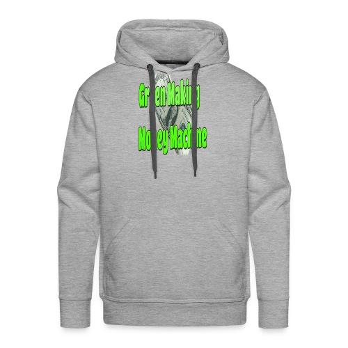 Green Making Money Machine - Men's Premium Hoodie