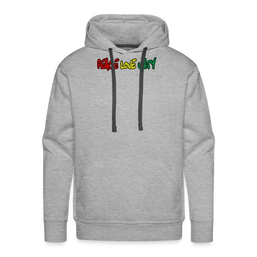 Peace Love Unity - Men's Premium Hoodie