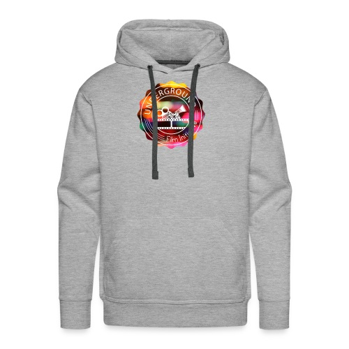 Underground_Film_Initiative_Logo_Colour_Pop_Bokeh - Men's Premium Hoodie