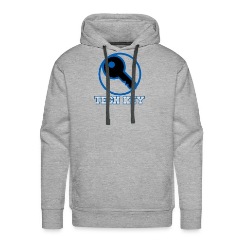 TechKey TV Logo - Men's Premium Hoodie