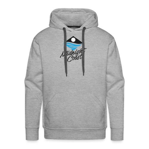 Midnight Coast Logo - PLUS Size Store - Men's Premium Hoodie