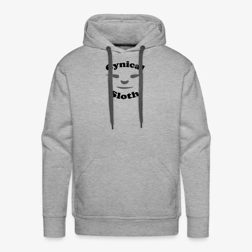 Cynical Sloth limited-edition company logo - Men's Premium Hoodie