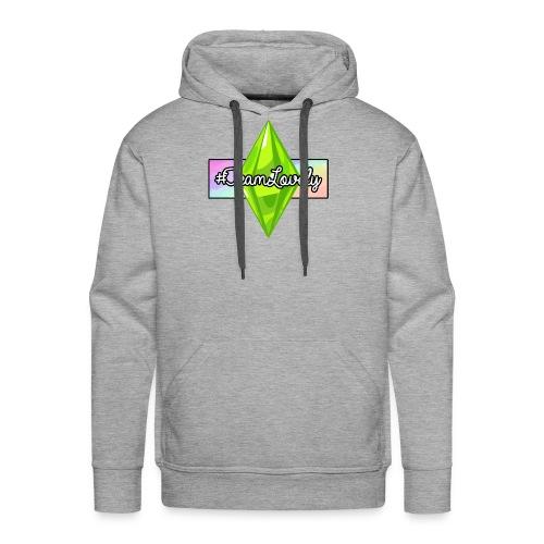 #TeamLovely Rainbow Logo - Men's Premium Hoodie