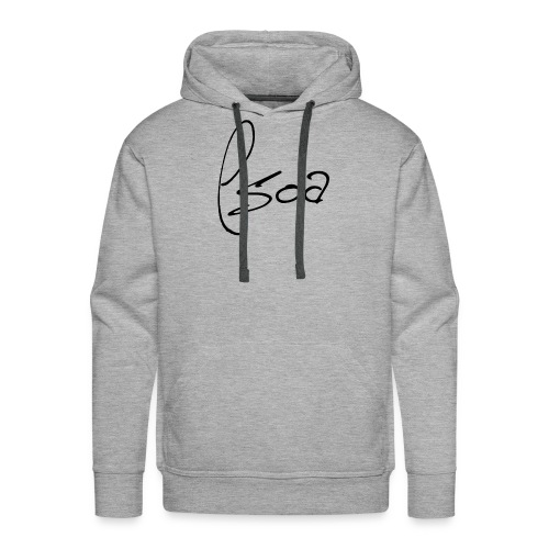 Logo Design (Black) - Men's Premium Hoodie