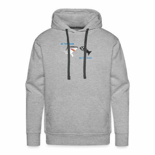SHARK OR THE FISH? - Men's Premium Hoodie