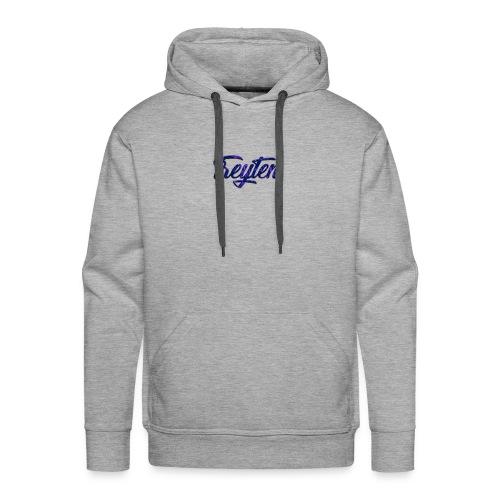 Treyten Simple Logo - Men's Premium Hoodie