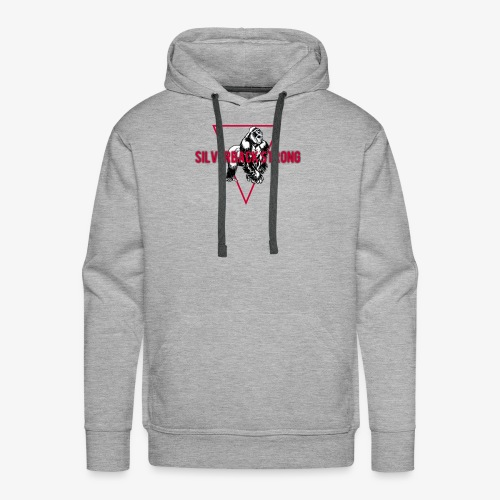 Kevins Choice Silverback Strong - Men's Premium Hoodie