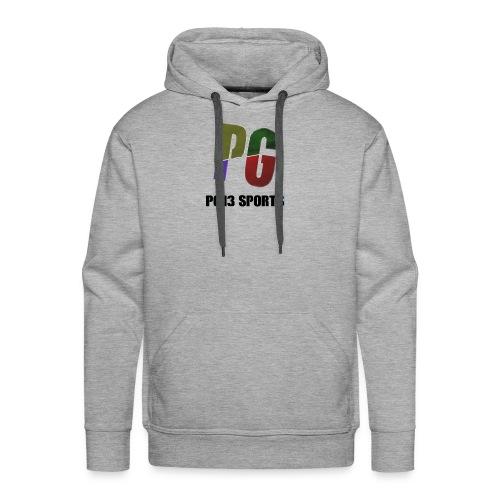 YouTube Merch Logo 2 - Men's Premium Hoodie