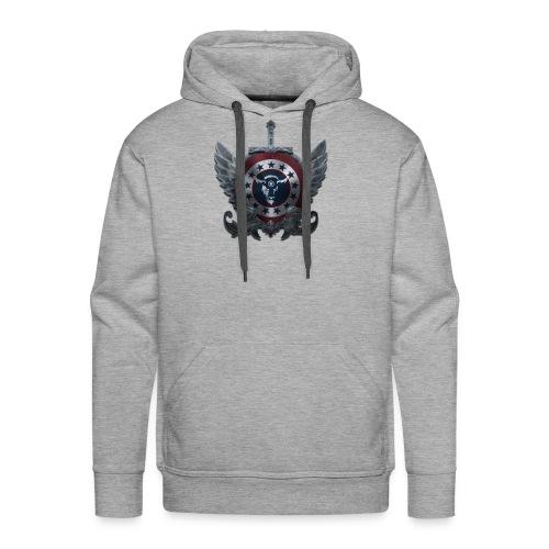 Guardians of America - Medium Logo - Men's Premium Hoodie