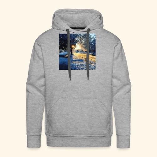 Winter time - Men's Premium Hoodie