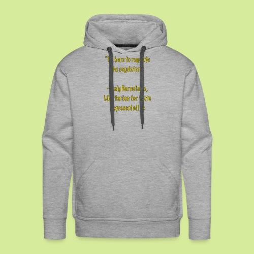 Slogan - Men's Premium Hoodie