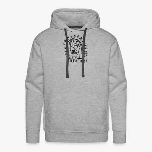 Pewdipie Vs T-series shirt 60 mill Club - Men's Premium Hoodie