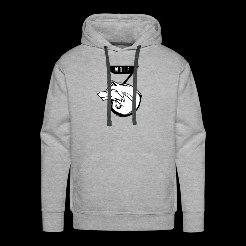 johnj WOLF shirt - Men's Premium Hoodie