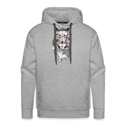 Wolf Lady - Men's Premium Hoodie
