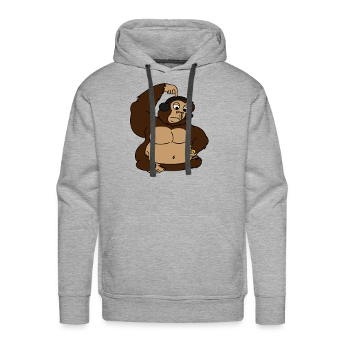 fat monkey v2 by playfulpossum d5r83ik - Men's Premium Hoodie