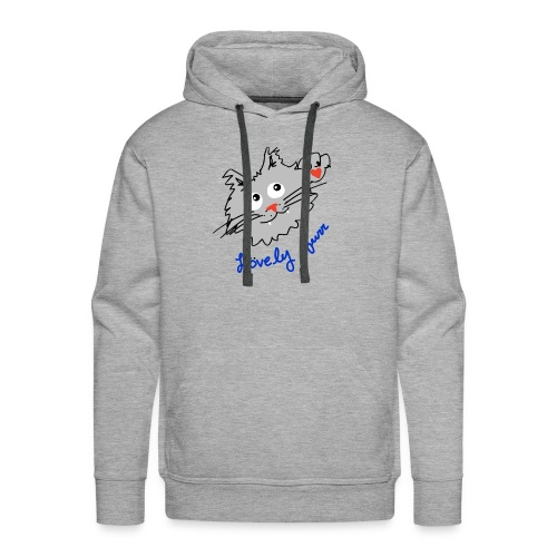 Original logo kitty - Men's Premium Hoodie