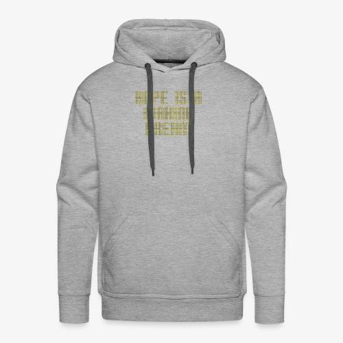 Hope is a waking dream - Men's Premium Hoodie
