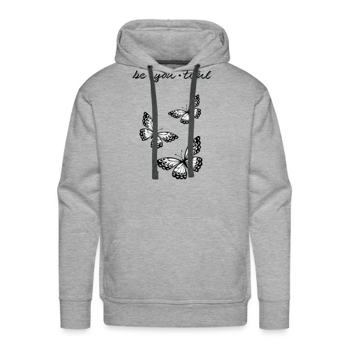 be_you_tiful_black - Men's Premium Hoodie