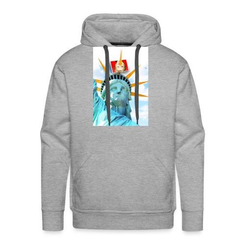 Lady Liberty Spikes Hillary - Men's Premium Hoodie