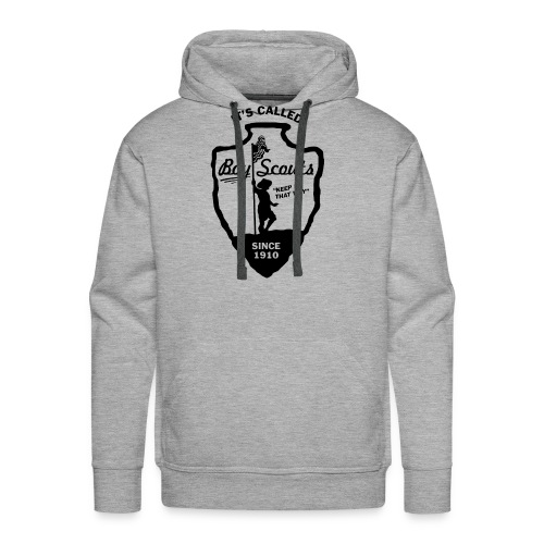 BOY Scouts is for BOYS - Men's Premium Hoodie