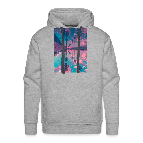 Palm trees - Men's Premium Hoodie