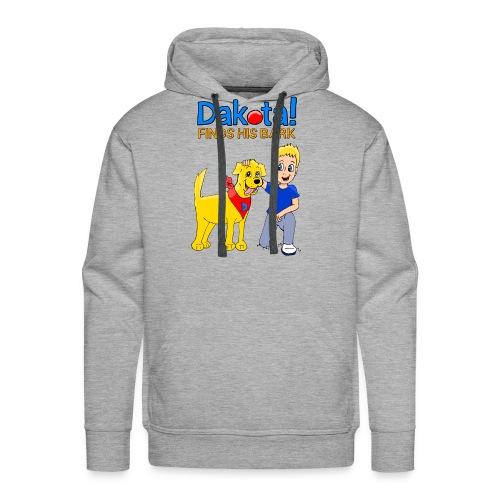 Dakota! Finds His Bark - Men's Premium Hoodie