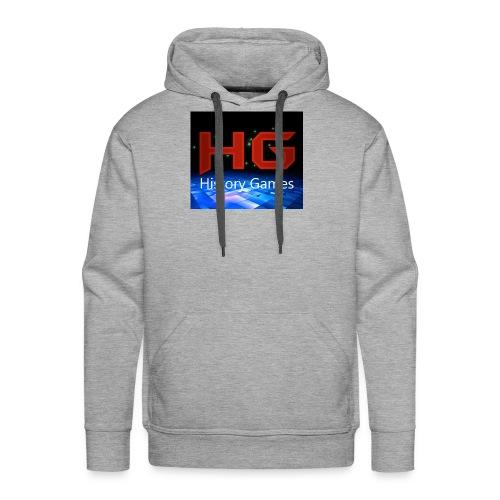Nuevo logo History Games - Men's Premium Hoodie