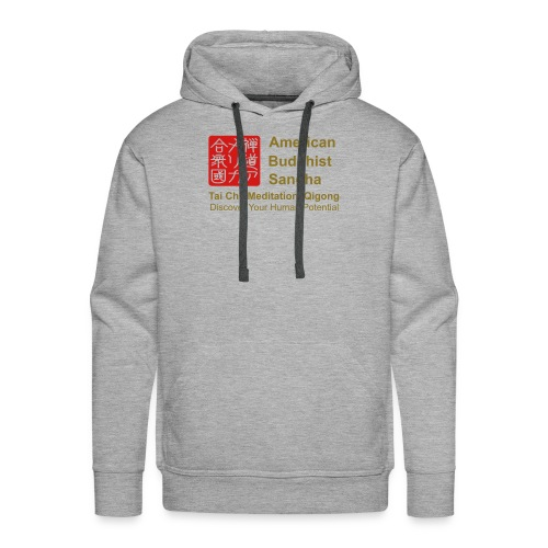 American Buddhist Sangha / Zen Do USA - Men's Premium Hoodie