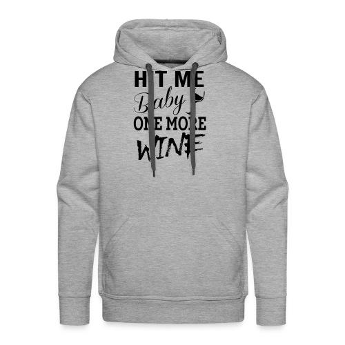 HIT Me Baby - Men's Premium Hoodie