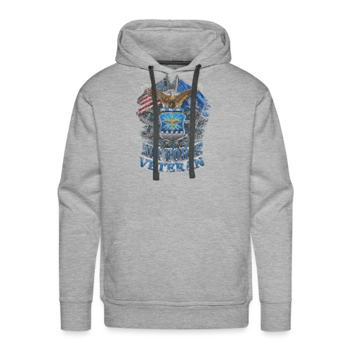 Air Force Veteran - Men's Premium Hoodie