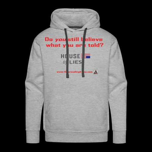 House of Lies - Men's Premium Hoodie