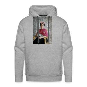 Stained Glass Frida - Men's Premium Hoodie