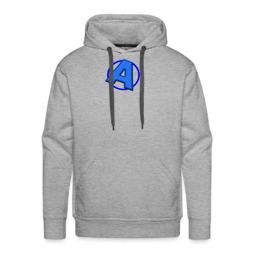 Awesomegamer Logo - Men's Premium Hoodie