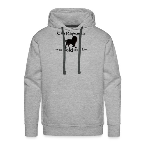 Bold as a Lion - Men's Premium Hoodie