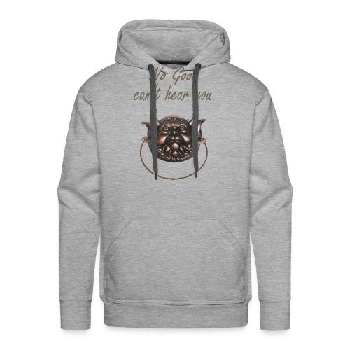 No Good Inspiration Shirts - Men's Premium Hoodie
