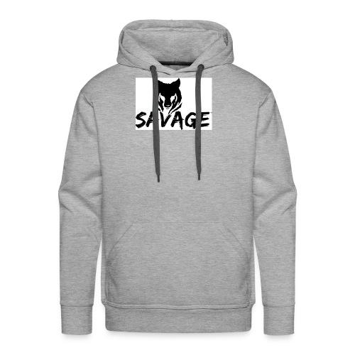 cameron is a savage - Men's Premium Hoodie