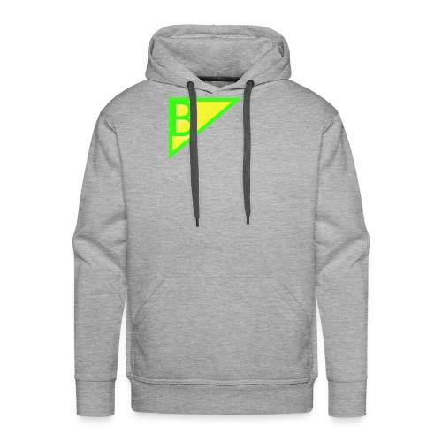 Neon green superman - Men's Premium Hoodie