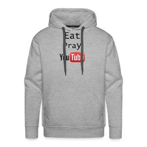 Eat Pray YouTube Shirt - Men's Premium Hoodie