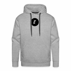 Circle Supreme E Logo - Men's Premium Hoodie