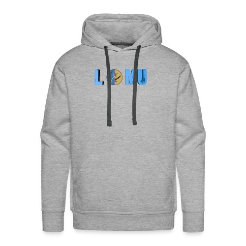 Blue T or CT - Men's Premium Hoodie