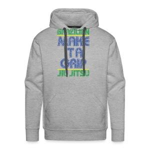 BJJ Make It A Grip Tee - Men's Premium Hoodie
