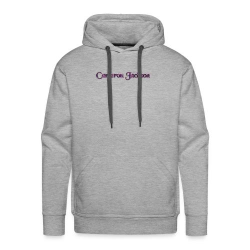 Cameron Jackson Lightning Logo - Men's Premium Hoodie