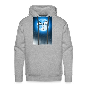 BLUE MOON UP - Men's Premium Hoodie