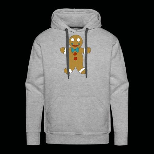 Gingerbread Man - Men's Premium Hoodie