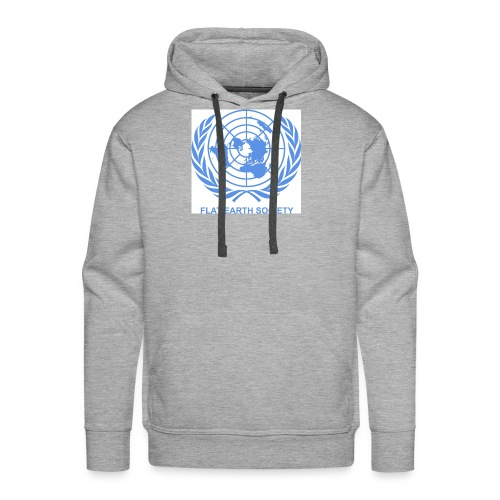 Flat Earth Society - Men's Premium Hoodie