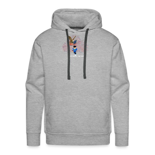 god bless - Men's Premium Hoodie