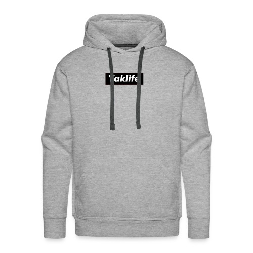 YAKLIFE'S MERCH - Men's Premium Hoodie