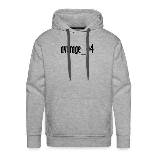 average_04 merch - Men's Premium Hoodie